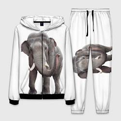 Костюм мужской Большой слон цвета 3D-черный — фото 1