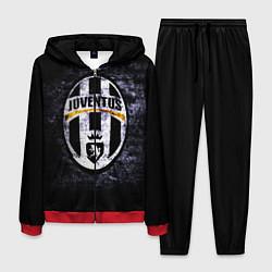 Костюм мужской Juventus: shadows цвета 3D-красный — фото 1