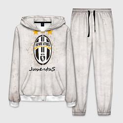 Костюм мужской Juventus3 цвета 3D-белый — фото 1