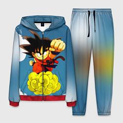 Костюм мужской Small Goku цвета 3D-красный — фото 1