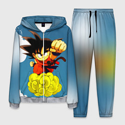 Костюм мужской Small Goku цвета 3D-меланж — фото 1