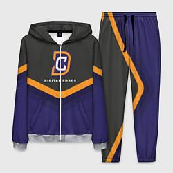 Костюм мужской Digital Chaos Uniform цвета 3D-меланж — фото 1