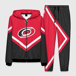 Костюм мужской NHL: Carolina Hurricanes цвета 3D-черный — фото 1