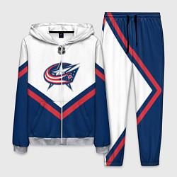Костюм мужской NHL: Columbus Blue Jackets цвета 3D-меланж — фото 1