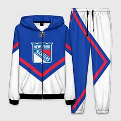 Костюм мужской NHL: New York Rangers цвета 3D-черный — фото 1