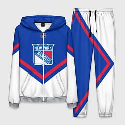 Костюм мужской NHL: New York Rangers цвета 3D-меланж — фото 1