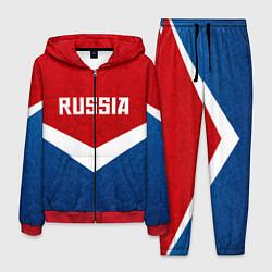 Костюм мужской Russia Team цвета 3D-красный — фото 1