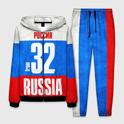 Костюм мужской Russia: from 32 цвета 3D-черный — фото 1