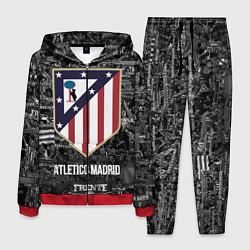 Костюм мужской Атлетико Мадрид цвета 3D-красный — фото 1