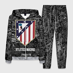 Костюм мужской Атлетико Мадрид цвета 3D-меланж — фото 1