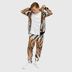 Костюм мужской Свирепый тигр цвета 3D-черный — фото 2