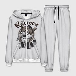 Костюм мужской Evil Raccoon цвета 3D-белый — фото 1
