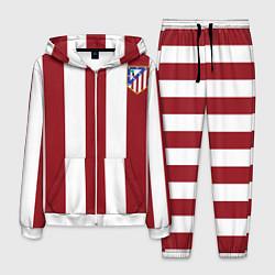 Костюм мужской Атлетико Мадрид цвета 3D-белый — фото 1