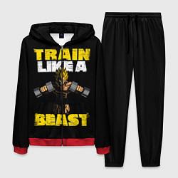 Костюм мужской Train Like a Beast цвета 3D-красный — фото 1
