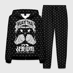Костюм мужской Muay Thai Killer цвета 3D-черный — фото 1
