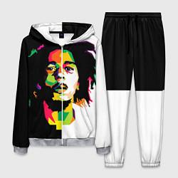 Костюм мужской Bob Marley: Colors цвета 3D-меланж — фото 1