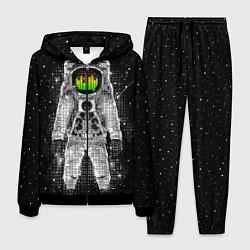 Костюм мужской Музыкальный космонавт цвета 3D-черный — фото 1