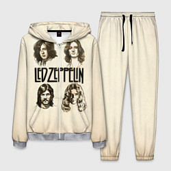 Костюм мужской Led Zeppelin Guys цвета 3D-меланж — фото 1