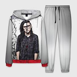 Костюм мужской Skrillex Boy цвета 3D-красный — фото 1