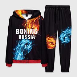 Костюм мужской Boxing Russia цвета 3D-красный — фото 1