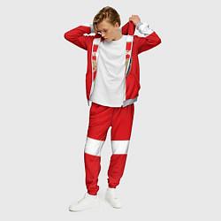 Костюм мужской Arsenal FC: Red line цвета 3D-меланж — фото 2