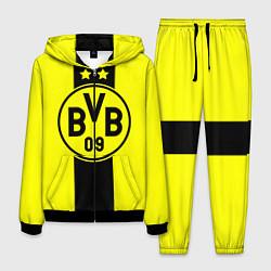 Костюм мужской BVB FC: Yellow line цвета 3D-черный — фото 1