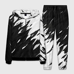 Костюм мужской Black & white цвета 3D-черный — фото 1