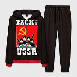 Костюм мужской Back In The USSR цвета 3D-красный — фото 1