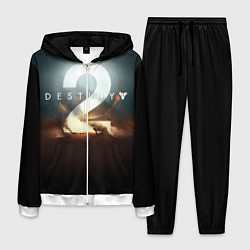 Костюм мужской Destiny 2 цвета 3D-белый — фото 1
