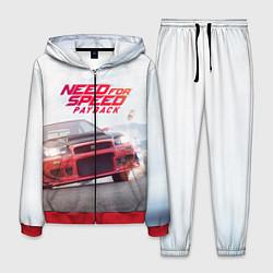 Костюм мужской NFS PAYBACK цвета 3D-красный — фото 1