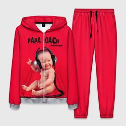 Костюм мужской Paparoach: Music Kid цвета 3D-меланж — фото 1
