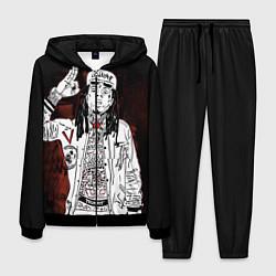 Костюм мужской Lil Wayne: street style цвета 3D-черный — фото 1