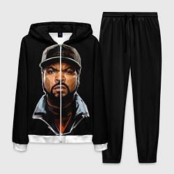 Костюм мужской Ice Cube цвета 3D-белый — фото 1