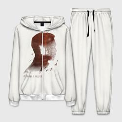 Костюм мужской Дельфин/Андрей цвета 3D-белый — фото 1