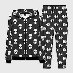 Костюм мужской BFMV: Skulls цвета 3D-черный — фото 1