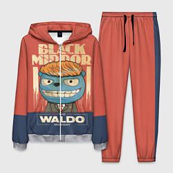 Костюм мужской Black Mirror: The Waldo цвета 3D-меланж — фото 1