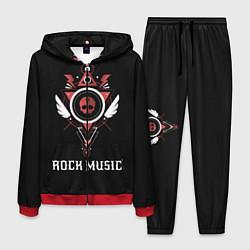 Костюм мужской Rock Music цвета 3D-красный — фото 1