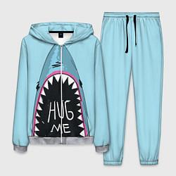 Костюм мужской Shark: Hug me цвета 3D-меланж — фото 1
