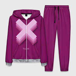 Костюм мужской The XX: Purple цвета 3D-меланж — фото 1
