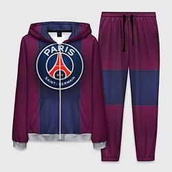 Костюм мужской Paris Saint-Germain цвета 3D-меланж — фото 1