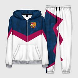 Костюм мужской Barcelona FC: Sport цвета 3D-меланж — фото 1