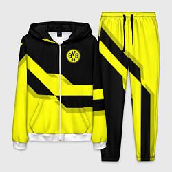 Костюм мужской BVB FC: Yellow style цвета 3D-белый — фото 1