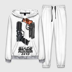 Костюм мужской Blade Runner 2049: Weapon цвета 3D-меланж — фото 1