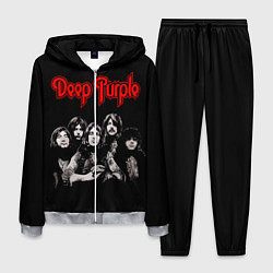 Костюм мужской Deep Purple цвета 3D-меланж — фото 1