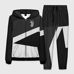 Костюм мужской FC Juventus: Sport Geometry цвета 3D-черный — фото 1