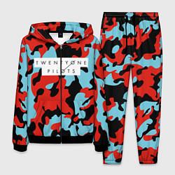 Костюм мужской TOP: Military Brand Colors цвета 3D-черный — фото 1