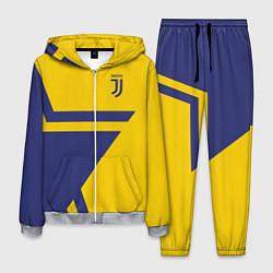 Костюм мужской FC Juventus: Star цвета 3D-меланж — фото 1