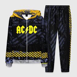 Костюм мужской AC/DC: Danger Style цвета 3D-меланж — фото 1