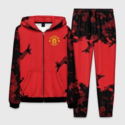 Костюм мужской FC Manchester United: Red Original цвета 3D-черный — фото 1