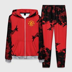 Костюм мужской FC Manchester United: Red Original цвета 3D-меланж — фото 1